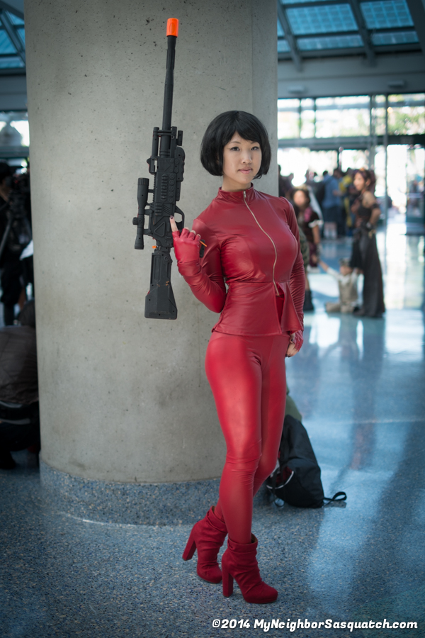 Very Cool O-ren Ishii cosplay!